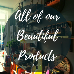 All of our products A-Z